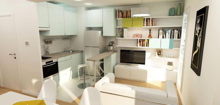 Design By Solène Utard KitchenBench tops