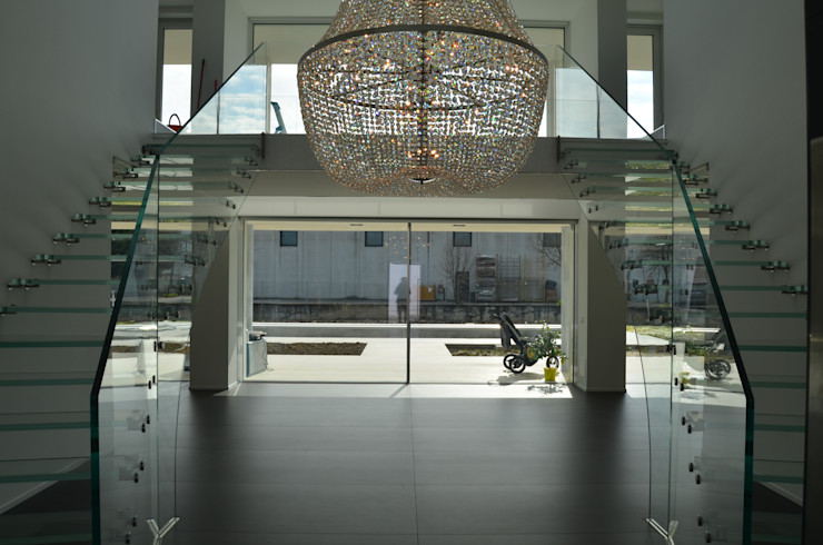 Glass stairs Siller Treppen/Stairs/Scale Corridor, hallway & stairs Stairs Glass Transparent