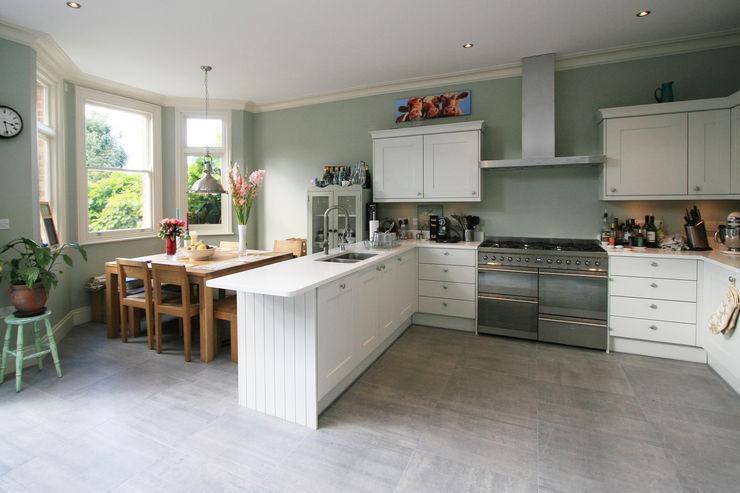 Transformed NW London Terrace Model Projects Ltd Classic style kitchen