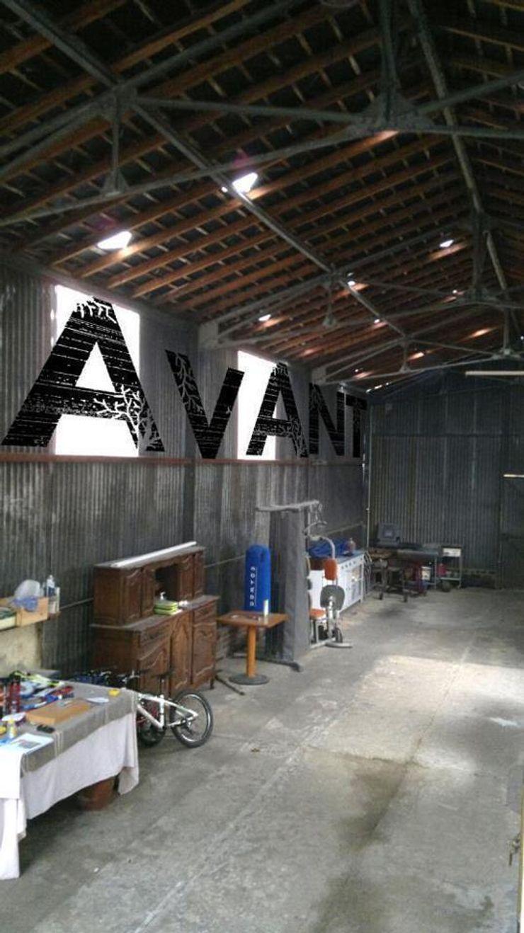 Loft AC/DC Allegre + Bonandrini architectes DPLG Garage / Hangar industriels