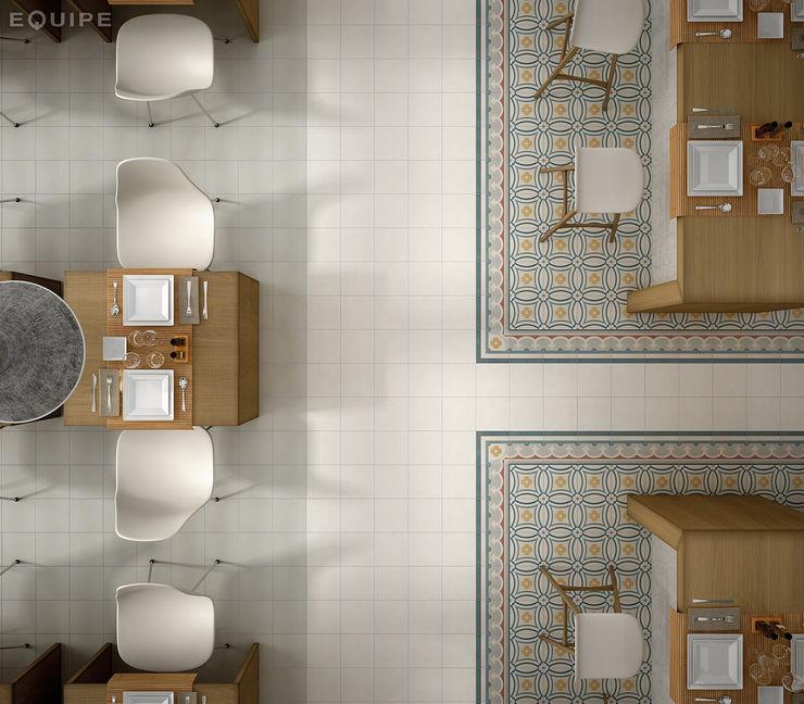 Caprice Equipe Ceramicas Salones de estilo colonial