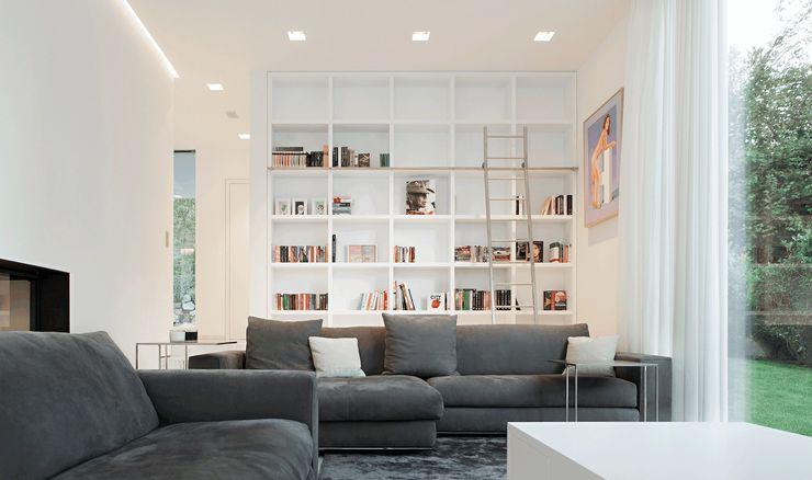 monovolume architecture + design Modern living room
