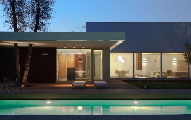 Cannata&Partners Lighting Design Casas de estilo moderno