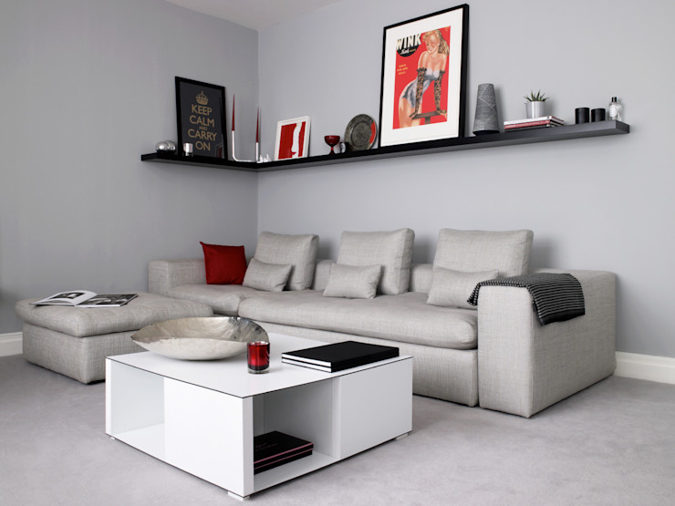 Marylebone LEIVARS Modern living room