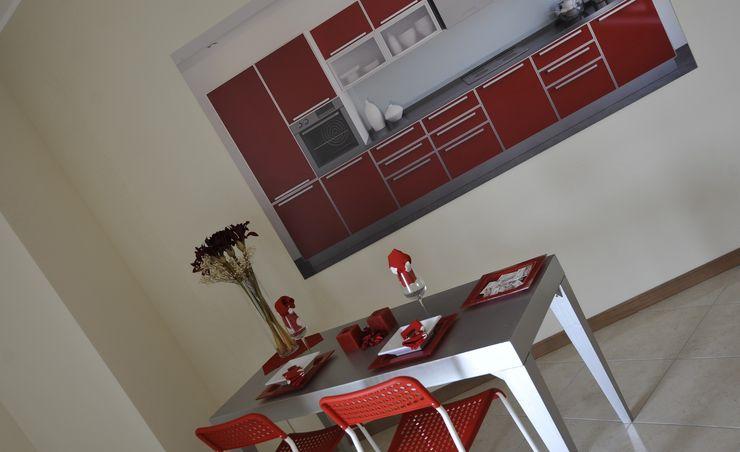 Cucina Gabriella Sala Design Sala da pranzo moderna