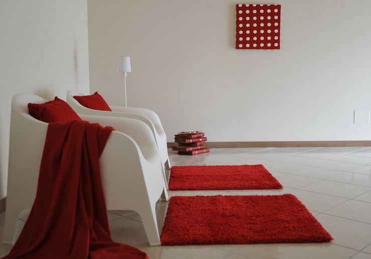 soggiorno Gabriella Sala Design Ingresso, Corridoio & Scale in stile moderno