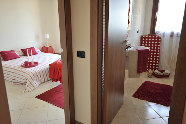 camera letto e bagno Gabriella Sala Design Camera da letto moderna
