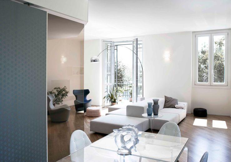 marta novarini architetto Living roomStools & chairs