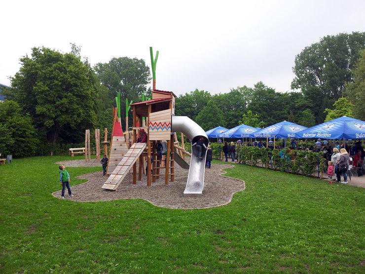 "Kletter- und Spiellandschaft ""An der Schließ"", Zweibrücken Planungsbüro STEFAN LAPORT"