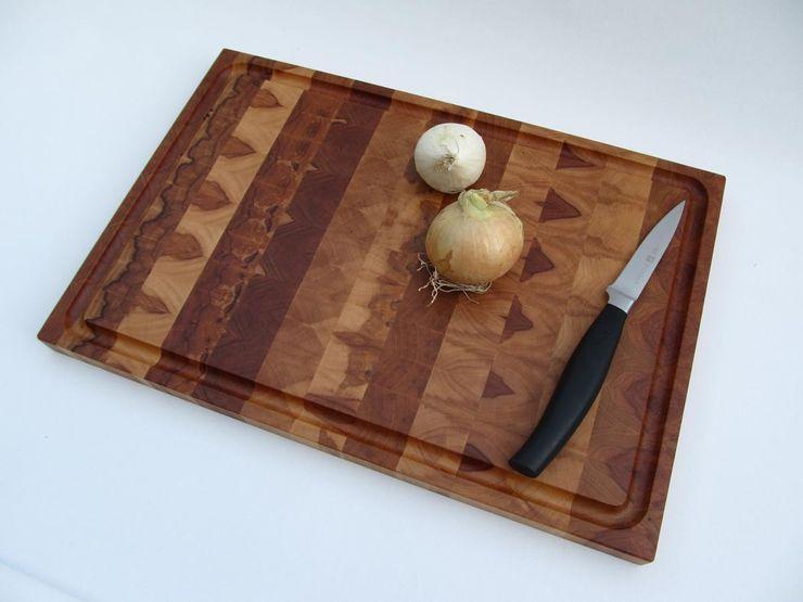 Hirnholzschneidebrett aus heimischem Apfelholz Schreinerei Roland Löffler KücheKüchenutensilien