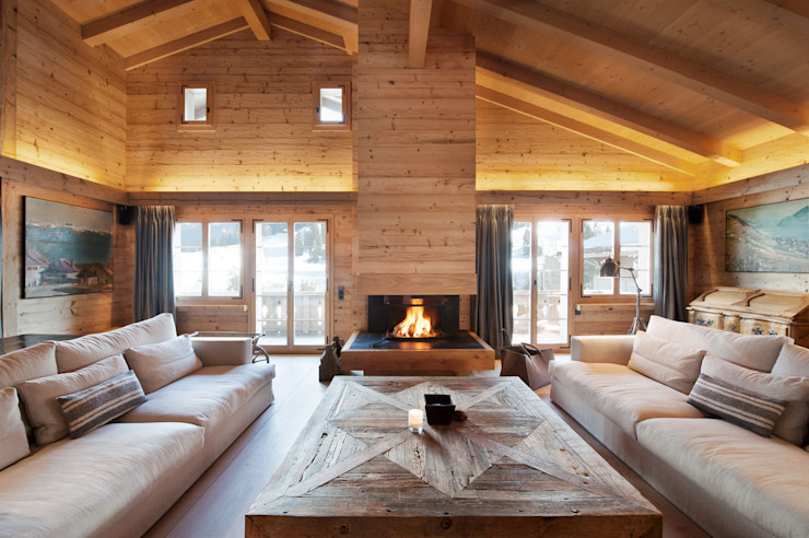 Chalet Gstaad Ardesia Design Living room