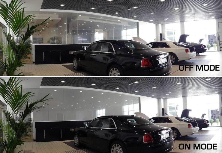 Vidrios de privacidad Dealer Mobil Modern