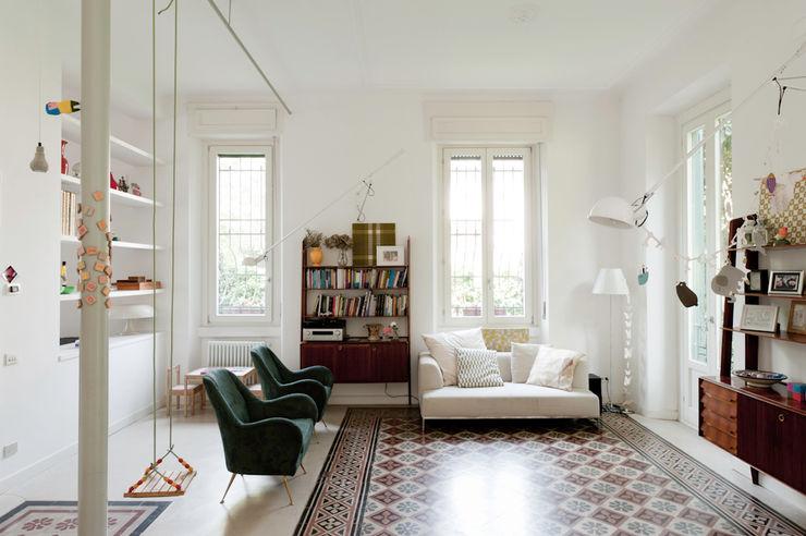 homify Ruang keluarga: Ide desain interior, inspirasi & gambar