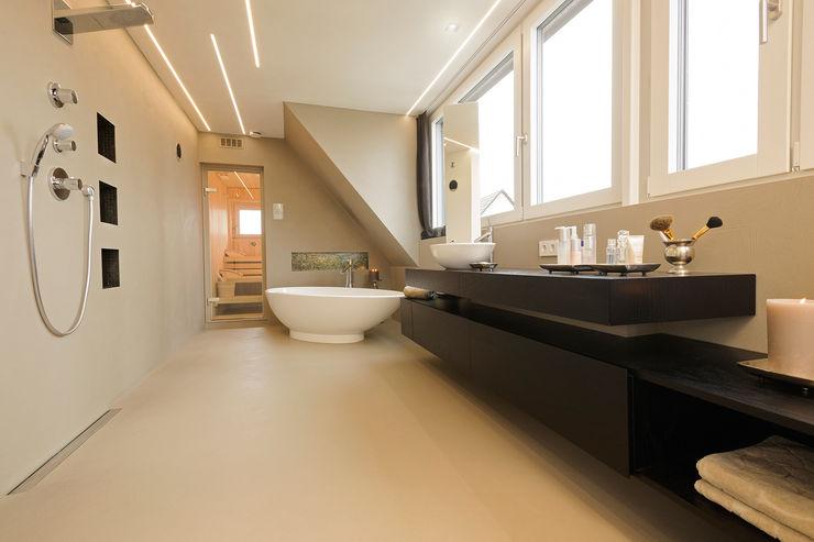Spaett Architekten GmbH 모던스타일 욕실