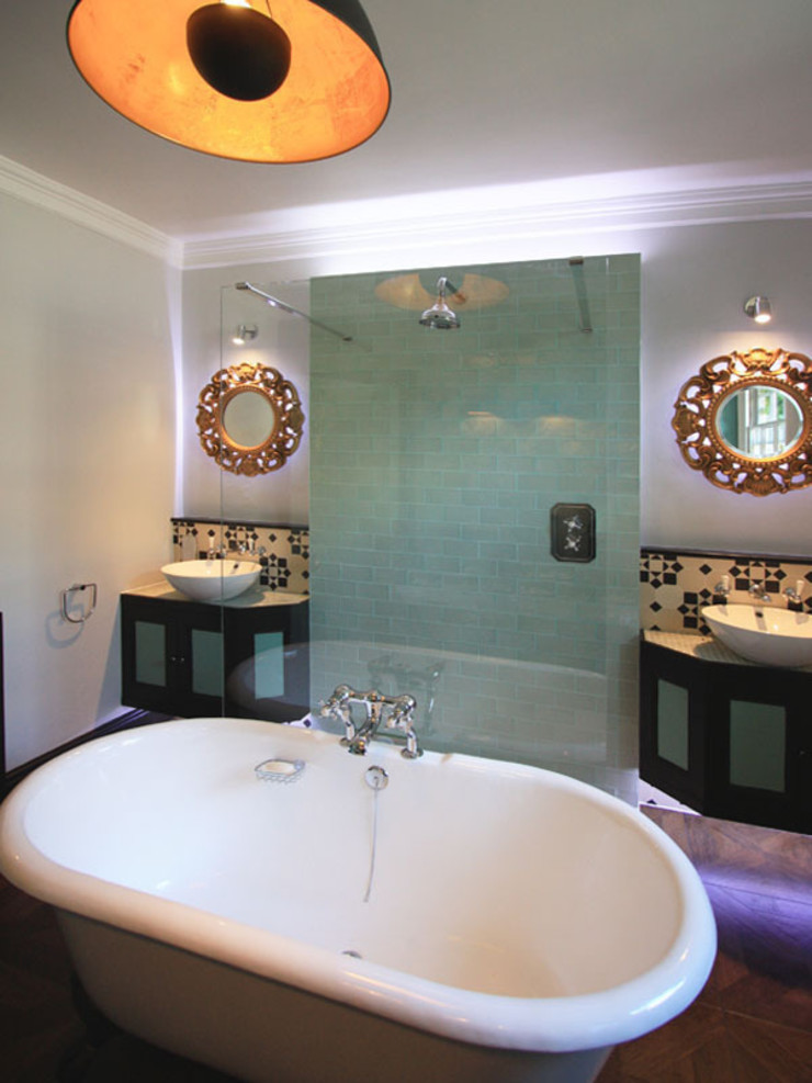Hoxton Victorian Bathroom Inara Interiors Eclectic style bathrooms