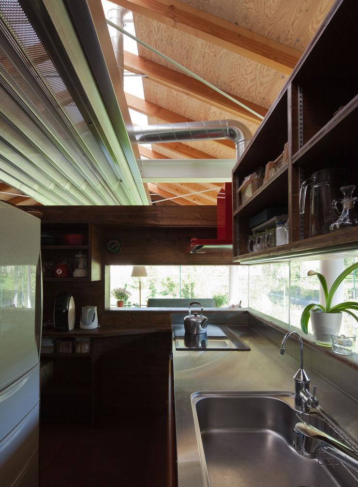H2O設計室 ( H2O Architectural design office ) Industrialna kuchnia