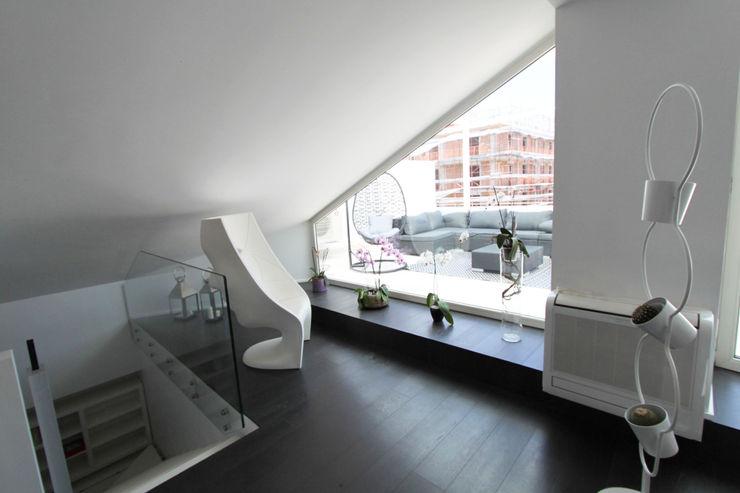 Gimmigi Lab Architettura 現代風玄關、走廊與階梯