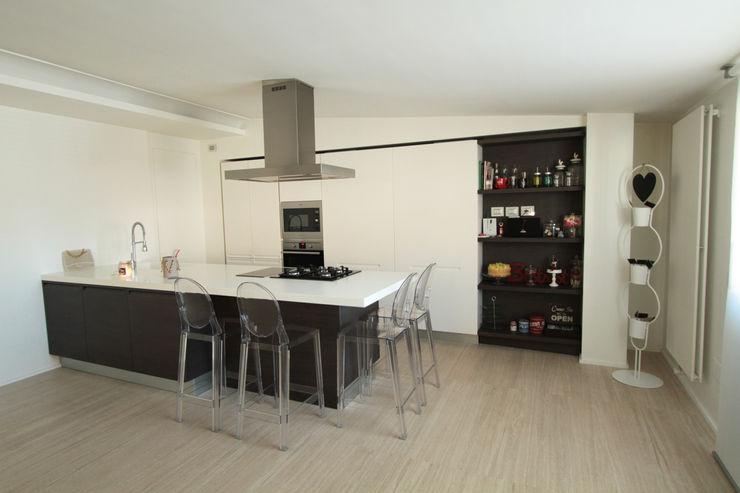 Gimmigi Lab Architettura 現代廚房設計點子、靈感&圖片