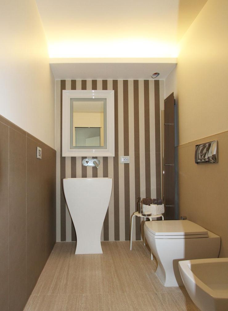 Gimmigi Lab Architettura 現代浴室設計點子、靈感&圖片