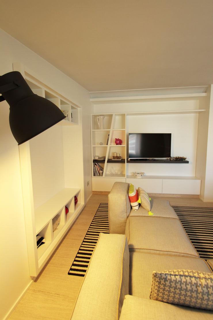 Gimmigi Lab Architettura 现代客厅設計點子、靈感 & 圖片