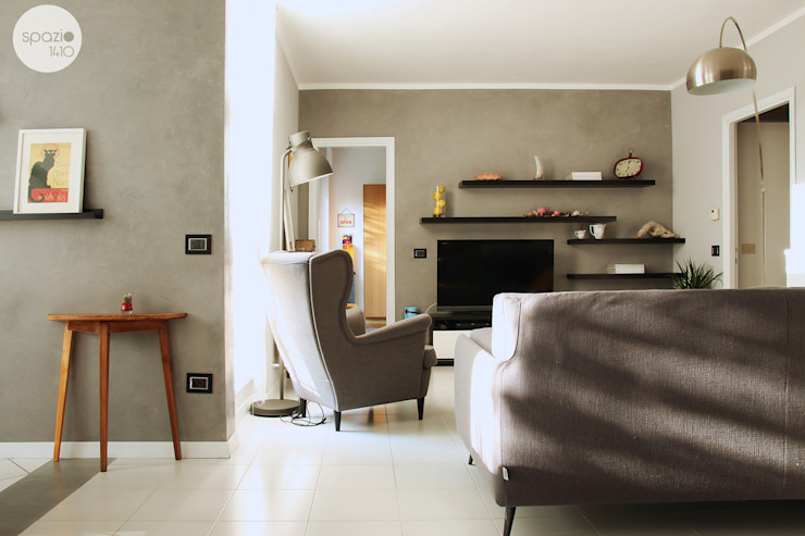 I ♥ GRAY :: Maresa's living room Spazio 14 10 모던스타일 거실 그레이
