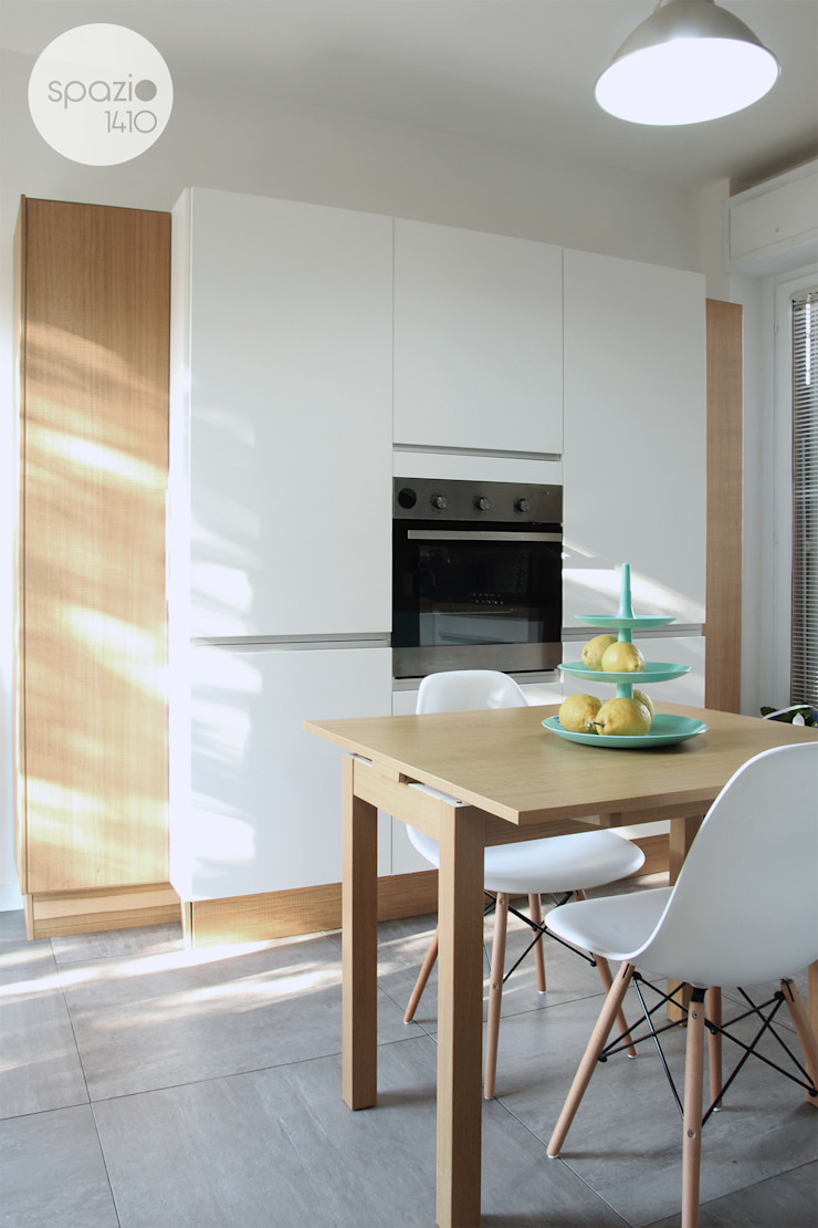 I ♥ GRAY :: Maresa's living room Spazio 14 10 빌트인 주방 우드 화이트