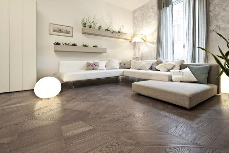 Slide Floor tuttoparquet 牆壁與地板牆壁與地板罩 木頭 Grey