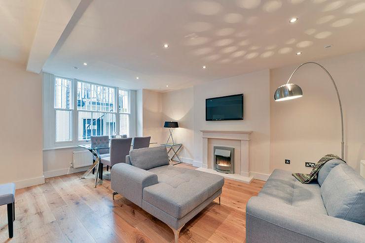 Living Room homify Ruang Keluarga Modern