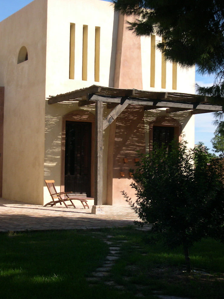 Porche Anticuable.com Casas de estilo mediterráneo