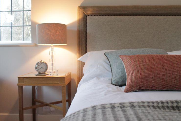 Bainbridge Luxury Upholstered Bed with designer details TurnPost BedroomBeds & headboards