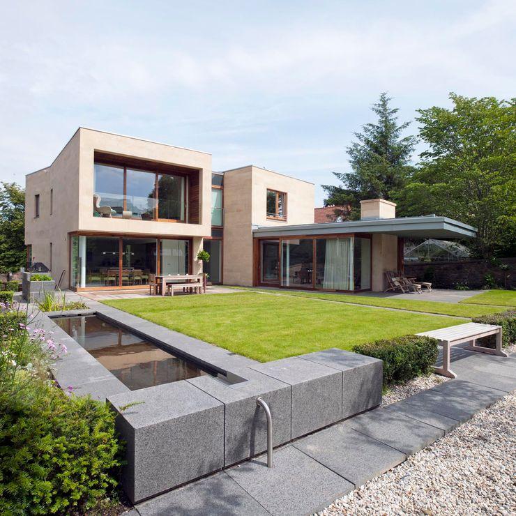 New villa in West Edinburgh - Garden ZONE Architects Modern houses