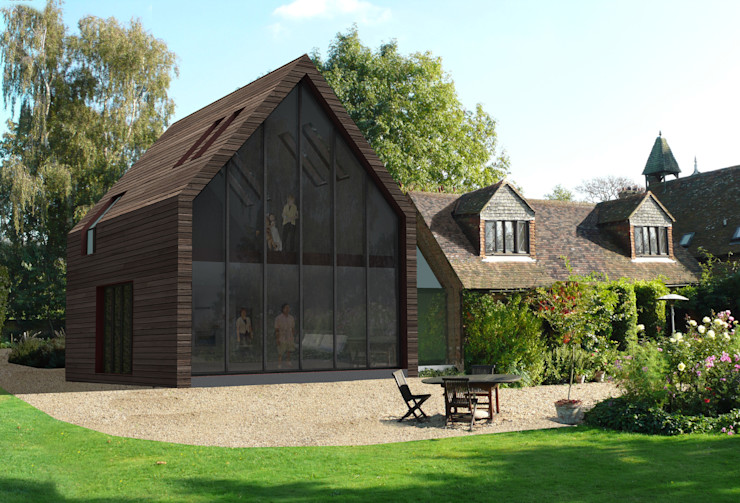 Extension to a Listed House Tenterden Kent STUDIO 9010 Nhà
