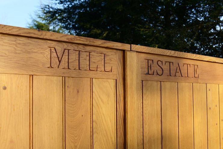 Bespoke Timber Gate Swan Gates Garden Fencing & walls