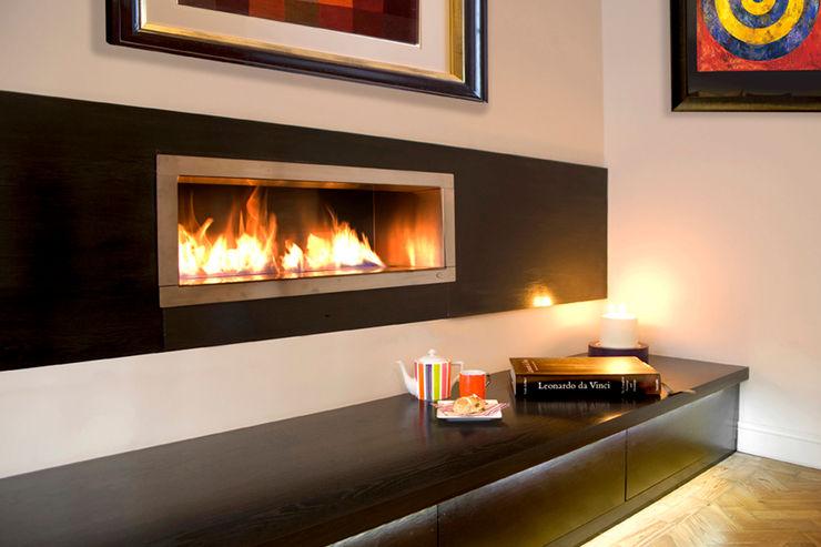 St James Apartment Eliska Design Associates Ltd. Living Room