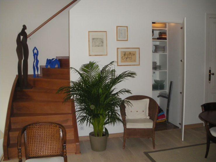 Echoppe Bordelaise AUDE SWEET HOME Couloir, entrée, escaliers modernes