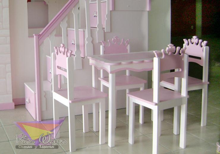 Kids Wolrd- Recamaras Literas y Muebles para niños Chambre d'enfantsBureaux & chaises
