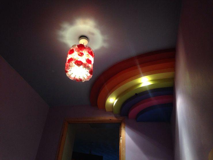 Rainbow ceiling Lancashire design ceilings Nursery/kid's room