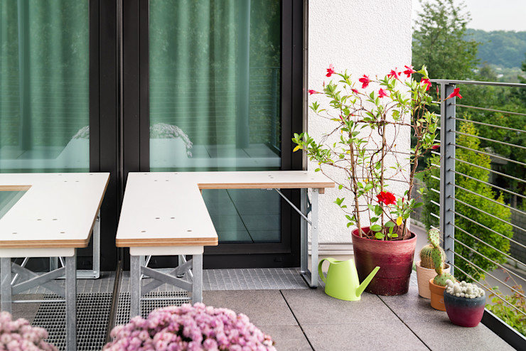 Studio Hartensteiner JardimMobiliário
