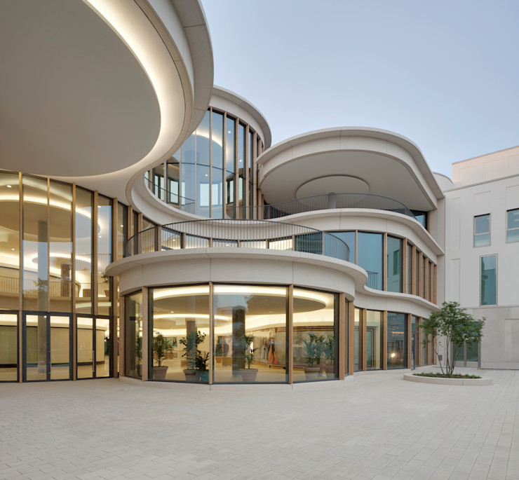 Ortner & Ortner Baukunst Ziviltechnikergesellschaft mbH Торговые центры в стиле модерн