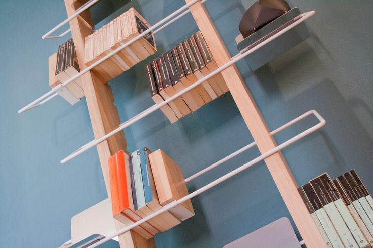 4P1B Design Studio ВітальняПолиці