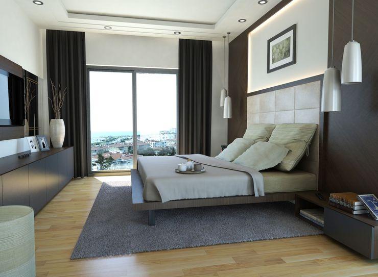 MONO MİMARLIK İNŞAAT Dormitorios modernos: Ideas, imágenes y decoración