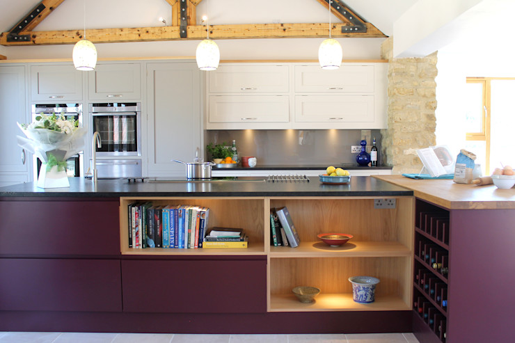 Old-Meets-New Krantz Designs 現代廚房設計點子、靈感&圖片