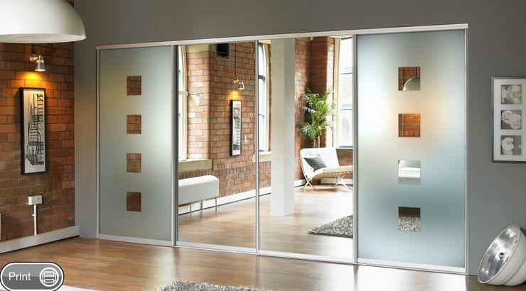 Mirror Sliding Doors Wardrobe Design Online DormitoriosArmarios y cómodas