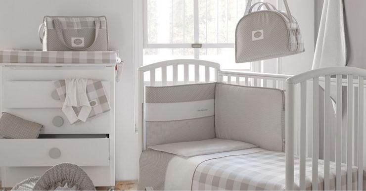 Colección Bebé Gris de Cambrass DINDONBEBE Dormitorios infantiles