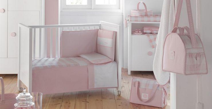 Colección Bebé Rosa de Cambrass DINDONBEBE Dormitorios infantiles