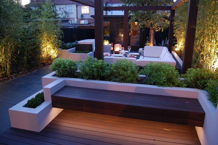 Garden in West London Paul Newman Landscapes Jardines modernos
