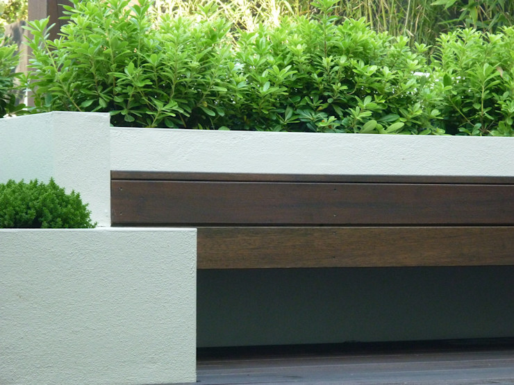 Garden in West London Paul Newman Landscapes Modern garden