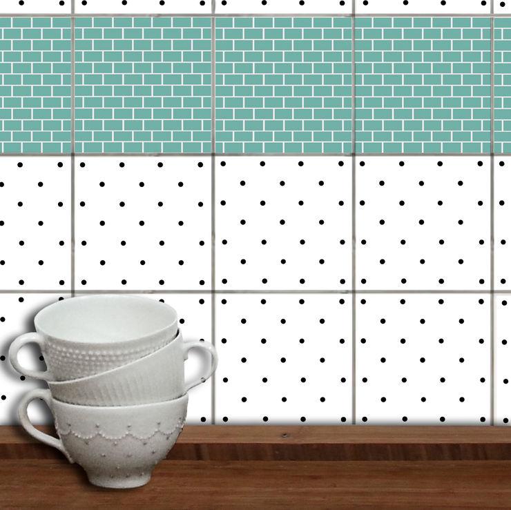 Fliesenaufkleber WandAkzente Wände & BodenWanddekorationen