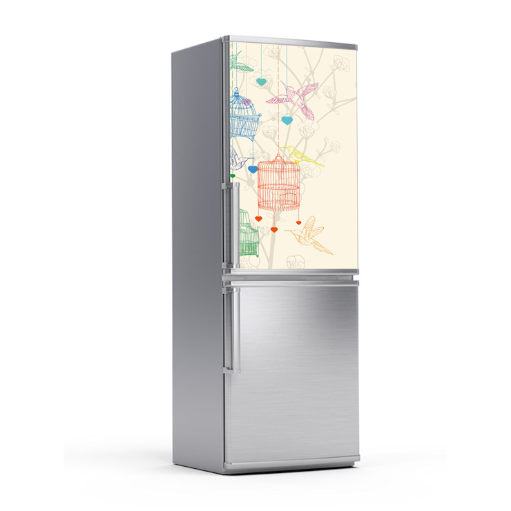 Kühlschrankfolie - Birdcage homify KücheElektronik