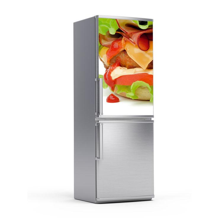 Kühlschrankfolie - Burger homify KücheElektronik